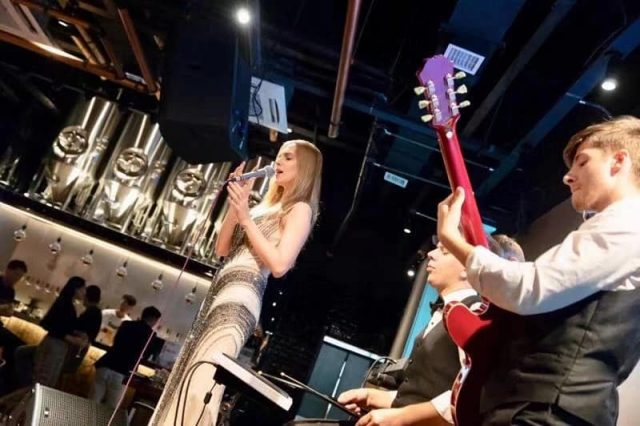 band wujiang grand opening party
