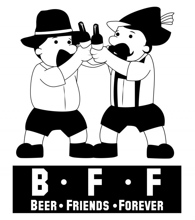 Beer Friends Forever - Beer drinking in Germany is a friendly affair.